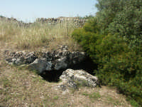 Catacombe di Vendicari accesso  - Noto (3998 clic)
