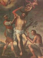 Militello - S. Maria della Stella - Martirio di San Bartolomeo (olio su tela)- autore ignoto  - Militello in val di catania (7108 clic)