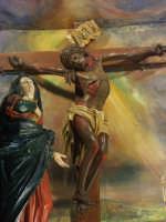 Chiesa dell'Addolorata - Gruppo del Crocifisso e dell'Addolorata  - Niscemi (4095 clic)