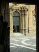 Chiesa Madre - particolare  - Niscemi (2742 clic)