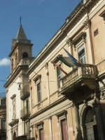 Palazzo del Municipio e Chiesa del Carmine  - Francofonte (4477 clic)