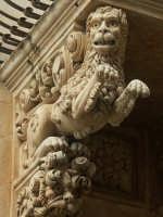 Balcone di Palazzo Nicolaci - particolare  - Noto (1122 clic)