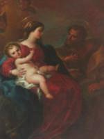 Chiesa dell'Immacolata - Sacra Famiglia - Sebastiano Conca.  - Priolo gargallo (3843 clic)