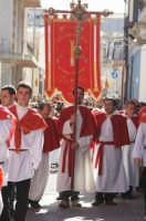 Festa della Patena, preziosa aureola del Cristo alla Colonna che ha incastonata una reliqua della Croce. Martedi di Carnevale, Basilica di S. Maria Maggiore.  - Ispica (1738 clic)