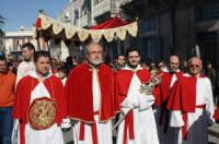 Festa della Patena, preziosa aureola del Cristo alla Colonna che ha incastonata una reliqua della Croce, martedi di Carnevale, Basilica di S. Maria Maggiore.  - Ispica (1497 clic)