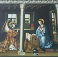 Annunciazione di Antonello da Messina che stava nella chiesa dell'Annunziata a Palazzolo, oggi al Museo Bellomo di Siracusa.  - Palazzolo acreide (12654 clic)