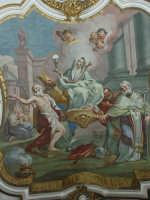 Basilica di S. Maria Maggiore, Trionfo della Fede, affresco, O. Sozzi. Mostra fotografica del Centenario dall'Erezione a Monumento Nazionale (1908-2008)  - Ispica (1155 clic)