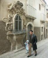 Scicli:  Edicola votiva barocca nel centro storico SCICLI SALVATORE BRANCATI