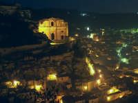 Scicli:  Veduta di notte SCICLI SALVATORE BRANCATI