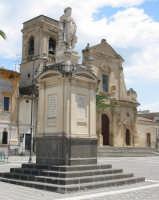 Scordia: Monumento e Chiesa dedicati a San Rocco  - Scordia (10223 clic)