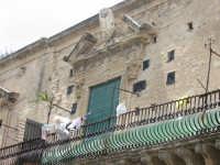 Scordia: Palazzo Principe Branciforte - balcone  - Scordia (3458 clic)