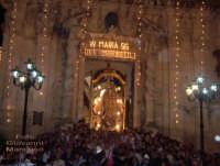 Uscita della Madonna Maria SS. dei Miracoli dal Santuario   - Mussomeli (6740 clic)