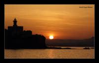 Tramonto nel porto grande di Siracusa - zona Isola   - Siracusa (5473 clic)