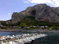 il porticciolo del Roosevelt sotto lo sguardo le san Bernardo ( monte Pellegrino )   - Palermo (8706 clic)