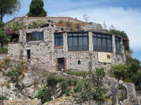 Il castello ed il vecchio Maniero.  - Castelmola (5203 clic)
