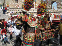 Carretto siciliano a Castelmola.  - Castelmola (3859 clic)