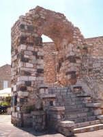 Arco d'entrata  - Castelmola (2432 clic)
