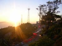 Un fantastico tramonto sulle Egadi visto da Erice.  - Egadi (2842 clic)