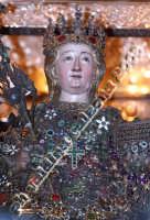 La bellissima S.Agata, giorno 4 febbraio 2008 all'ingresso della Cattedrale S.Agata La Vetere..emozionantissimo. Foto Valdina Calzona  - Catania (1697 clic)