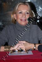 Catherine Spack in conferenza stampa-Febbraio 2008 Foto Valdina Calzona  - Catania (2367 clic)