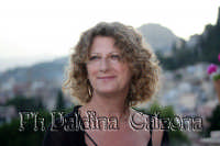 Angela Finocchiaro all'hotel Timeo. Giugno 2008 Ph Valdina Calzona  - Taormina (1806 clic)