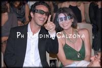 Salvo Ficarra con la moglie al Taormina FilmFest. Ph Valdina Calzona 2010  - Taormina (19908 clic)