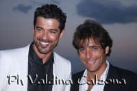 Alessandro Gassman e Adriano Giannini all'hotel Timeo. Giugno 2008 Ph Valdina Calzona  - Taormina (4156 clic)