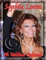 La sensualissima 'Donna Sophia' Loren. Ph Valdina Calzona  - Catania (1718 clic)