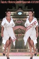 Sfilata di moda a piazza universita'. Ph Valdina Calzona 2010  - Catania (1895 clic)