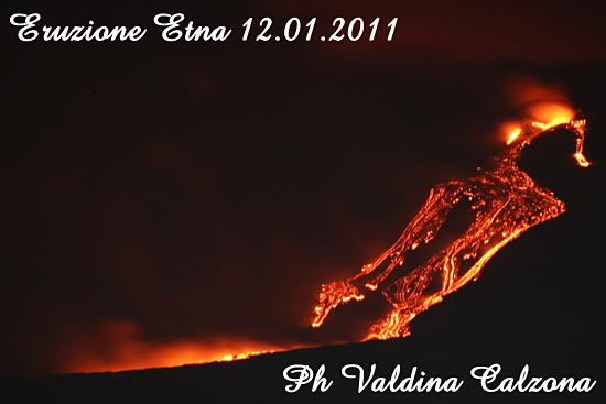 Eruzione dell'Etna -  - inserita il 13-Jan-11