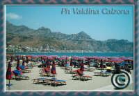 Spiaggia di Giardini Naxos con vista di taormina e castelmola. Ph valdina Calzona  - Giardini naxos (3186 clic)