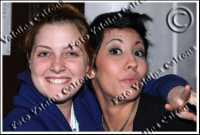 Noemi e Malika Ayane al teatro massimo bellini alle prove generali per il concerto di natale. ph Valdina Calzona 2009  - Catania (2942 clic)