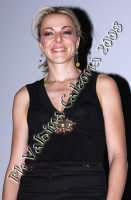 La bellissima Claudia Gerini al cinema Planet di Catania per la presentazione del nuovo film: Grande Grosso e Verdone. Febbraio 2008 Ph Valdina Calzona  - Catania (1090 clic)