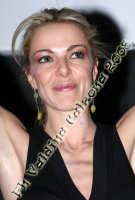 La bellissima Claudia Gerini al cinema Planet di Catania per la presentazione del nuovo film: Grande Grosso e Verdone. Febbraio 2008 Ph Valdina Calzona  - Catania (1113 clic)
