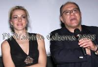 Claudia Gerini e Carlo Verdone al cinema Planet di Catania per la presentazione del nuovo film: Grande Grosso e Verdone. Febbraio 2008 Ph Valdina Calzona  - Catania (1128 clic)