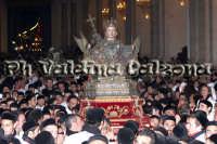 Sant'Agata al rientro in Cattedrale il giorno dell'Ottava,12 febbraio 2008- Foto Valdina Calzona  - Catania (1964 clic)