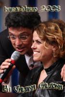 La cantante Tosca insieme a Salvo La Rosa alla trasmissione Insieme-Marzo 2008 Ph Valdina Calzona  - Catania (1130 clic)