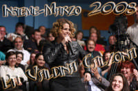 La cantante Tosca alla trasmissione Insieme-Marzo 2008 Ph Valdina Calzona  - Catania (1399 clic)