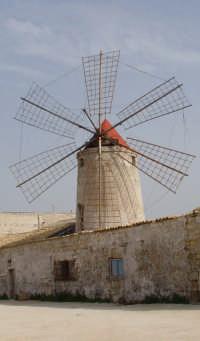 Mulino delle saline  - Erice (2987 clic)