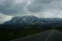 Rocca Busambra colpita dalla bufera di neve.  - Ficuzza (8880 clic)