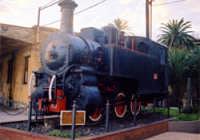 Locomotiva 370 con scartamento ridotto.  - Catania (4049 clic)