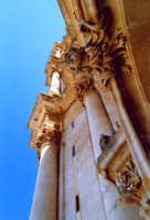 Particolare della chiesa di San Giorgio. MODICA Giuseppe Zingarino
