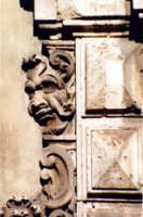 Particolare di un palazzo barocco  - Catania (3055 clic)