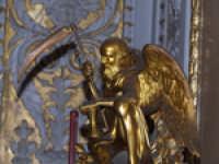 L'angelo della morte nelle sale del Palazzo dei Normanni PALERMO Giuseppe Zingarino