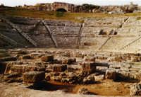 Teatro greco  - Siracusa (2728 clic)