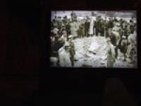 L'ipogeo romano oggi è sede di un monumento che ricorda i bombardamenti della Seconda Guerra Mondiale  - Siracusa (2771 clic)