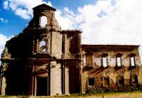 Il monastero distrutto durante la seconda guerra mondiale. Troina fu teatro di violenti scontri tra alleati e tedeschi  - Troina (6520 clic)