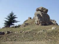 I resti del castello medievale  - Aidone (2414 clic)