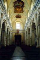 L'interno della chiesa madre  - Militello in val di catania (1987 clic)