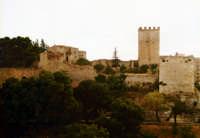 Il castello di Lombardia visto dal centro dell' Isola ENNA Giuseppe Zingarino